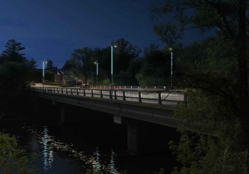 Plan lumiere Pont 2